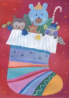 Dubravka Kolanovic - christmas stocking.JPG