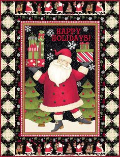 Happy Holidays!  Featuring Santa's Gifts by Debbie Mumm