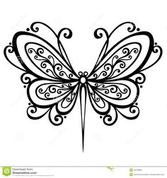dragonfly tattoo | Dragonfly coloring pages