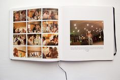 Our Moleskine Wedding Photobook | Caylee Grey