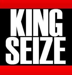 Kingseize hiphop logo design