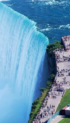 Niagara Falls. wow! putting that on the bucket list!