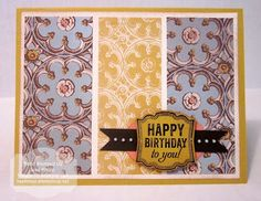 Soho Subway Birthday by MaryLisaK - Cards and Paper Crafts at Splitcoaststampers