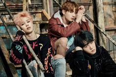 Suga, Jimin and Jungkook ❤ BTS YOU NEVER WALK ALONE Concept Photo 1 #BTS #방탄소년단