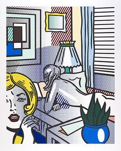 This is a selection of highlights from ARTIST ROOMS: Roy Lichtenstein at the Scottish National Gallery of Modern Art