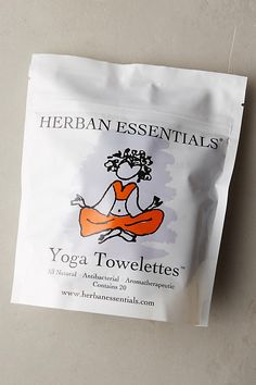 Slide View: 1: Herban Essentials Yoga Towelettes