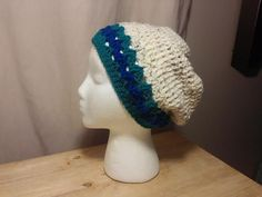 High Fashion Slouchy Hat by DeezasCrochet on Etsy