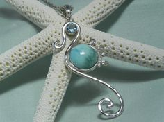 Hum, have to think about this. Blue Larimar.