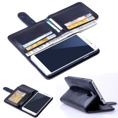 Luxury 7 card slots Wallet PU leather case Cover For Samsung Galaxy Note 3 N9000