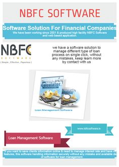 NBFC Software is a one kind of software solution for financial brokers to manage multiple clients' data efficiently & quickly, All NBFC Software available online; NBFC software is a software product of Cyrus