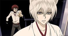kamisama kiss kurama and tomoe - funny gif
