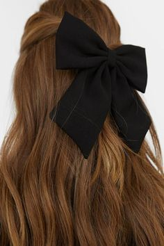 Your place to buy and sell all things handmade New Hair, Your Hair, Diy Hair Scrunchies, Black Hair Bows, Diy Accessoires, Handmade Hair Bows, Flower Hair Accessories, Aesthetic Hair, Shiny Hair