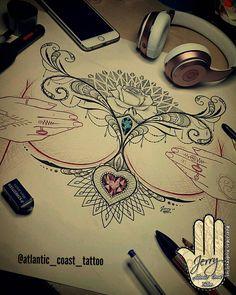 Available ✅ #chesttattoo #sternum #sternumtattoo #rosetattoo #underboobtattoos #underboob #sternumtattoo #tattooedgirls #inkedgirls #inked #mandala #mandalatattoo #inksparation #tattoo #rose #rosedrawing #lotus #lacetattoo #femininetattoo #tattooideas #newquay #cornwall #cornwalltattoos