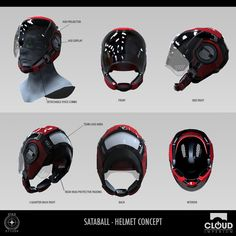 Sataball Helmet Concept - Star Citizen, Jeremiah Lee on ArtStation at https://www.artstation.com/artwork/sataball-helmet-concept-star-citizen