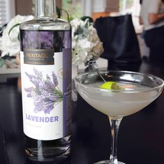 This lavender vodka cocktail gets it s creamy sweetness from vanilla simple syrup and its delightful tartness from lime Vodka Martini, Simple Vodka Cocktails, Lavender Cocktail, Lavender Syrup, Advantages Of Watermelon, Kinds Of Salad, Tasting Room, Simple Syrup, Yummy Drinks