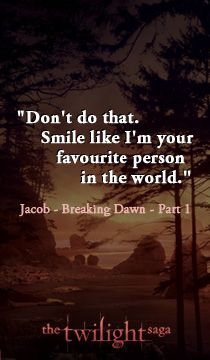 Cute Bella and charlie quote from The Twilight Saga: Breaking Dawn - Part 1 x Twilight Jacob, Twilight Cast, Twilight Movie, Twilight Saga Quotes, Twilight Saga Series, Jacob Black, Movie Quotes, Book Quotes, Twilight Breaking Dawn