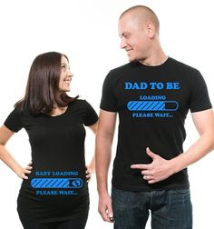 Couple Maternity Matching T-Shirts Dad Maternity T-Shirt Pre. - Couple Maternity Matching T-Shirts Dad Maternity T-Shirt Pregnancy Announcement Couple T shirts - Matching Couple Shirts, Couple Tshirts, Matching Family Outfits, Baby Shower Shirts, Baby T Shirts, Tee Shirts, Pregnancy Humor, Pregnancy Shirts, Early Pregnancy