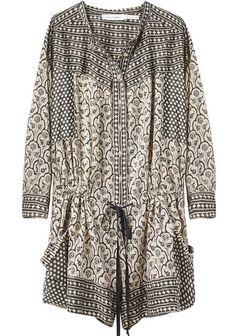 Isabel Marant dress/tunic...the print mix is wonderful