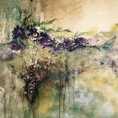 fatiha RIRY peintures/paintings acrylics, flowers, fleurs, abstract, abstrait, aquarelle, Wonderland, Creations, Painting, Abstract Backgrounds, Watercolor Painting, Artist, Color, Flowers, Bijoux