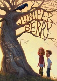 Juniper Berry by M. Kozlowsky, illustrated by Erwin Madrid Book cover illustration Book Cover Art, Book Cover Design, Book Design, Book Art, Cover Books, Design Art, Book Reviews For Kids, Juniper Berry, Beautiful Book Covers