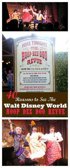 40 Reasons to See the Walt Disney World Hoop Dee Doo Revue Review via @raisingwhasians