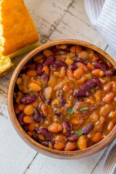 Instant Pot Brown Sugar Baked Beans