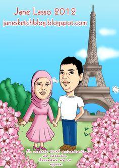 Dibujo para pareja