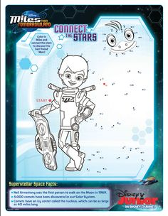 Miles From Tomorrowland Activity Connect The Stars To See Merc