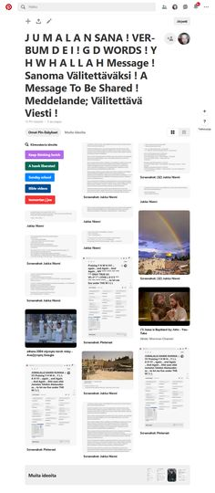 Screenshot: Pinterest Saints Days, Child And Child, The Covenant, Wow Products, No One Loves Me, Pray, First Love, Blessed, Blessings