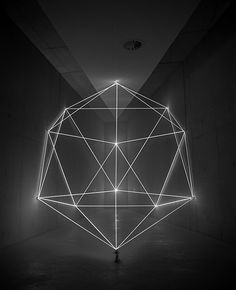 Icosahedron, installation par James Nizam #art #installation #geometry