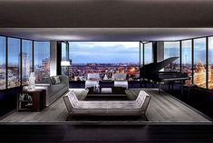 This is your first digital look at one of four penthouses planned for One Hyde Park in London. At million, One Hyde Park penthouse, will be the most expensive flat in the world, upon completion in It will. Apartment View, Penthouse Apartment, London Apartment, One Bedroom Apartment, Dream Apartment, Penthouse London, Luxury Penthouse, One Hyde Park, Richard Rogers