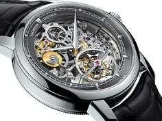 Vacheron Constantin Patrimony Traditionnelle 14-Day Tourbillon Openworked #SIHH2014
