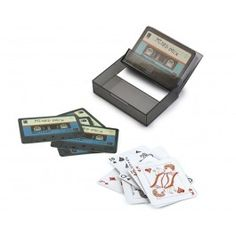 Tape Deck Playing Cards