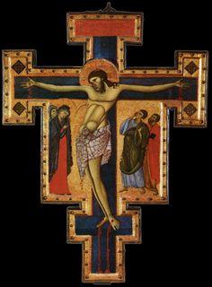 Master of St. Francis, crucifix, c.1270-80