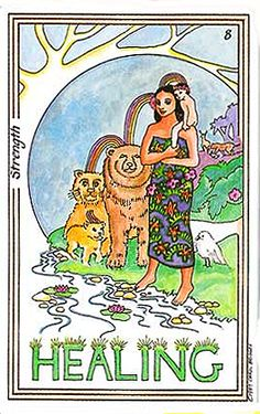 Healing (Strength) - Medicine Woman Tarot