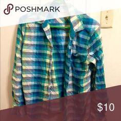 Aero shirt Lg Aeropostale Tops Button Down Shirts