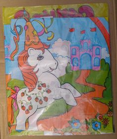 My Little Pony Birthday Plastic Tablecloth Vintage Argentina