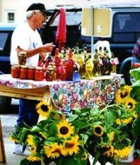 St. Joseph Farmer's Market for fresh veggies