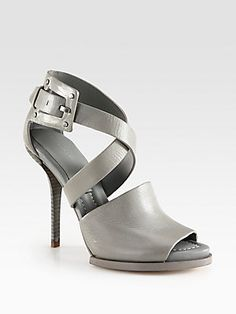 Alexander Wang Delphine Leather Sandals-are these not the most beautiful shoe!!!!!