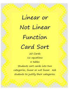 Algebra's Friend: Using Card Sorts in Math Class
