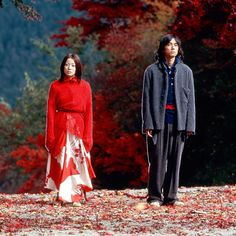 'Dolls' (2002); regia: Kitano Takeshi. Titolo originale: 'ドールズ'