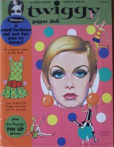 Twiggy Paper Doll