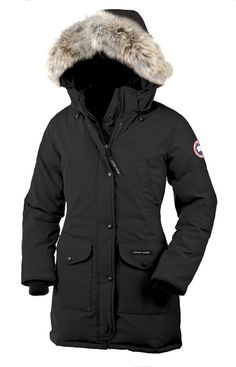 The only thing that allows me to tolerate winter.    Canada Goose Trillium Parka in black.