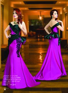 Modern fashion is the most popular for young generation. Khmer dress is also the popular one for joining special ceremony or party. Bridal Dresses, Girls Dresses, Prom Dresses, African Dress, African Wear, Sweet Dress, Traditional Outfits, Chic Outfits, African Fashion