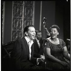 Ella and Frank! May 9, 1958.