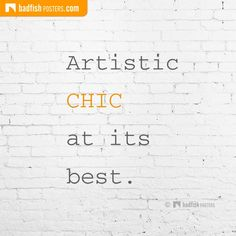 This Artistic Chic post is only the first step toward a broader understanding of the BadFishPosters phenomenon. Math, Chic, Artist, Poster, Blog, Elegant, Math Resources, Artists, Posters