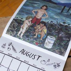 Taproot 2014 Wall Calendar #novanatural for Mama