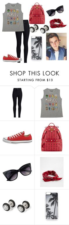 """annie 21 (recording a video with connor franta)"" by annie-hall-barton ❤ liked on Polyvore featuring Rodarte, Marvel, Converse, MCM, ASOS and Zero Gravity"
