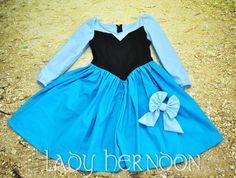 My Fairy Tale: Ariel Kiss the Girl Dress Sizes by LadyHerndon Day Dresses, Blue Dresses, Girls Dresses, Ariel Cosplay, Tokyo Disney Sea, Fairy Tales, Ballet Skirt, 4th Birthday, Skirts