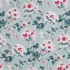 Madcap Cottage Mirador Morn Celadon floral design print fabric, 100% cotton multi purpose fabric for upholstery, drapery and other decorative accents. Robert Allen@Home #fabric #madcapcottage #cottagehomefabrics